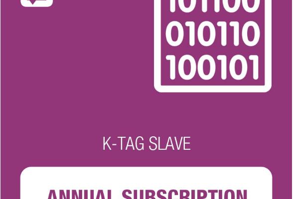 K-TAG ГОДИШЕН АБОНАМЕНТ ЗА SLAVE