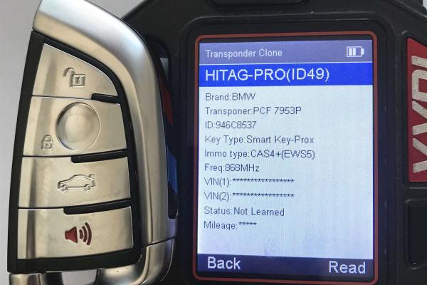 Smart Proximity ключ 868MHz ЗА BMW X5 X6, 2014 - 2018 г., FEM BDC EWS5