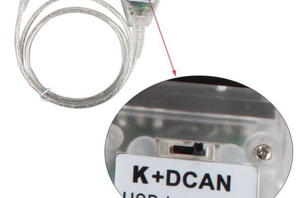 Кабел за диагностика на BMW - K+DCAN