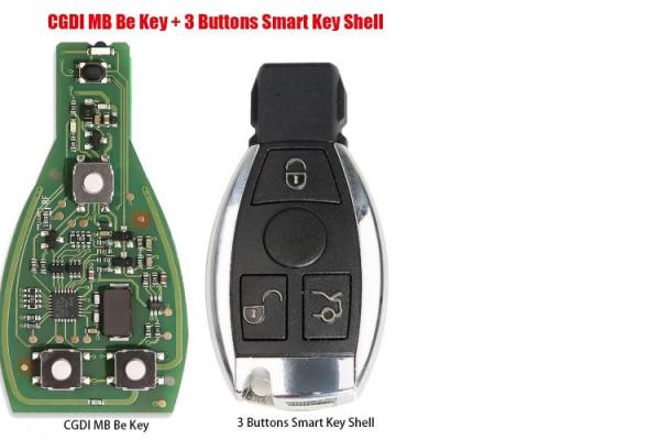 CGDI IR ключ за Mercedes Benz с 3 бутона - FBS3 315MHZ/433MHZ