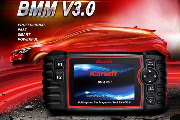 СКЕНЕР ЗА ДИАГНОСТИКА НА BMW/MINI -  BMM V3.0, iCarsoft