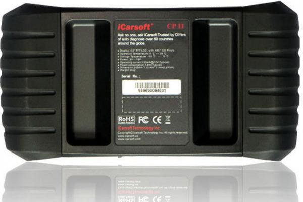 CP II - Скенер за диагностика на CITROEN / PEUGEOT, iCarsoft