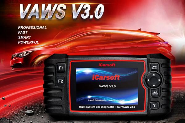 WAVS V3.0 - СКЕНЕР ЗА ДИАГНОСТИКА НА AUDI / VW / SEAT / SKODA, iCarsoft