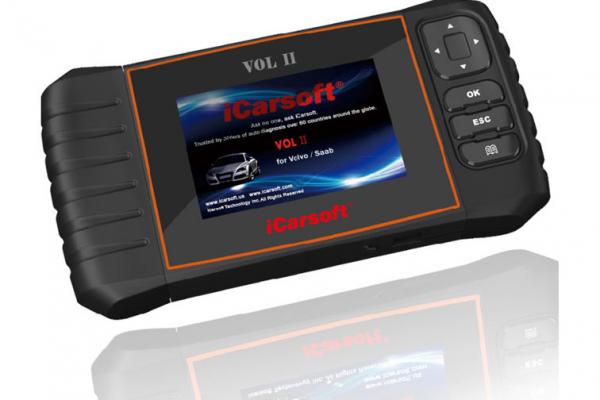 Скенер за автодиагностика iCarsoft VOL II за VOLVO / SAAB