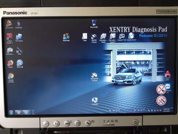 STAR DIAGNOSIS DoIP Xentry Connect C5 + таблет
