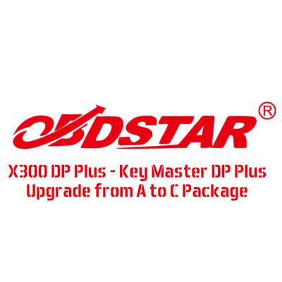 Надграждане на OBDSTAR X300 DP PLUS - A PACKAGE до C Package (Full)