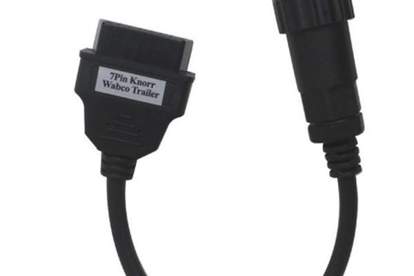 Преходник Knorr/Wabco - 7 pin към 16 pin OBD II