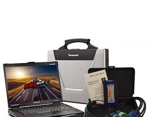 Диагностична система за ISUZU + лаптоп Panasonic CF-52