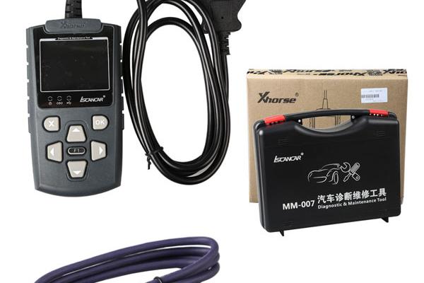 Iscancar MM-007 - Скенер за автодиагностика на VW, Audi, Skoda, Seat, XHORSE
